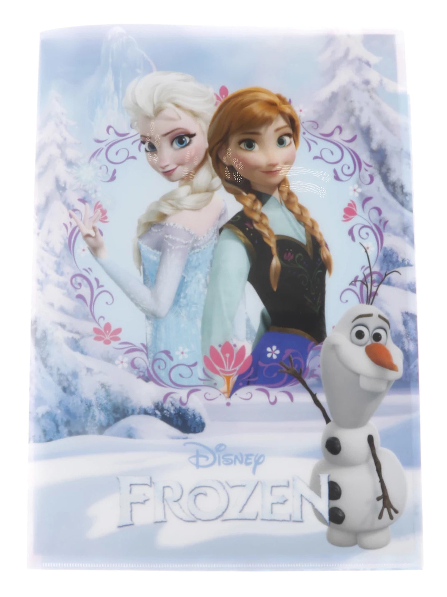 WEGO/アナと雪の女王Wポケットクリアファイル