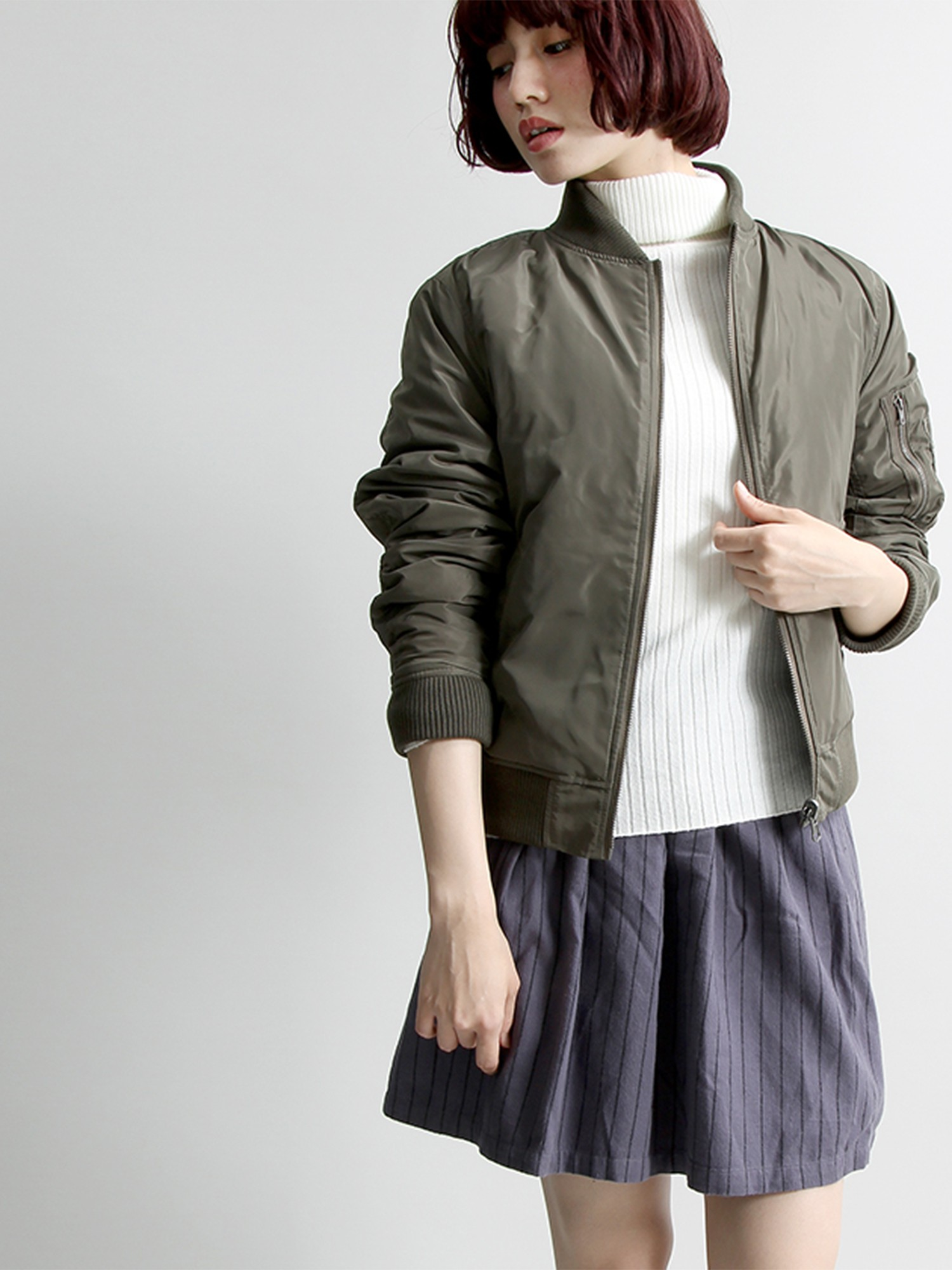 WEGO/ネルサーキュラースカート