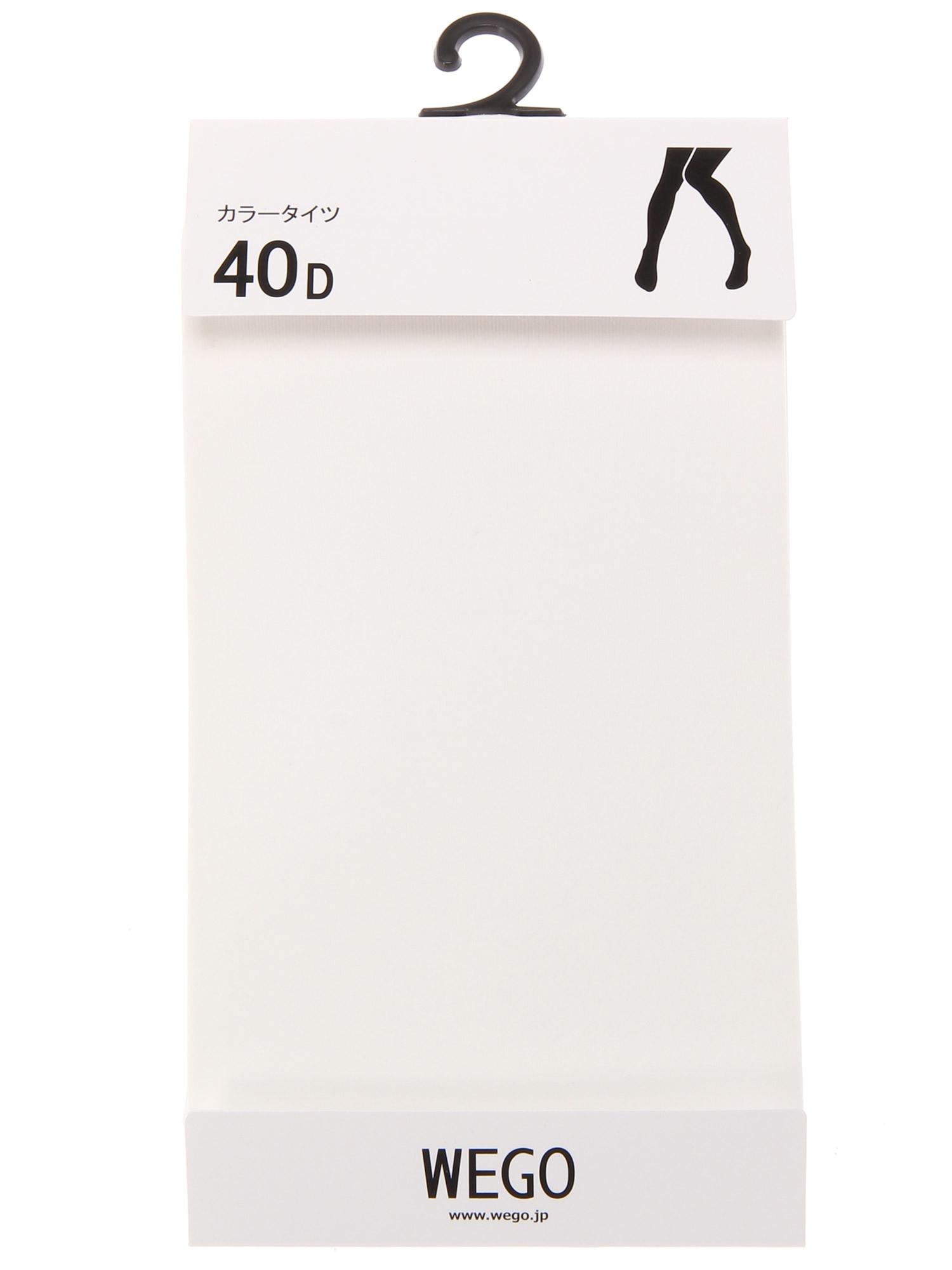 WEGO/40デニールタイツ