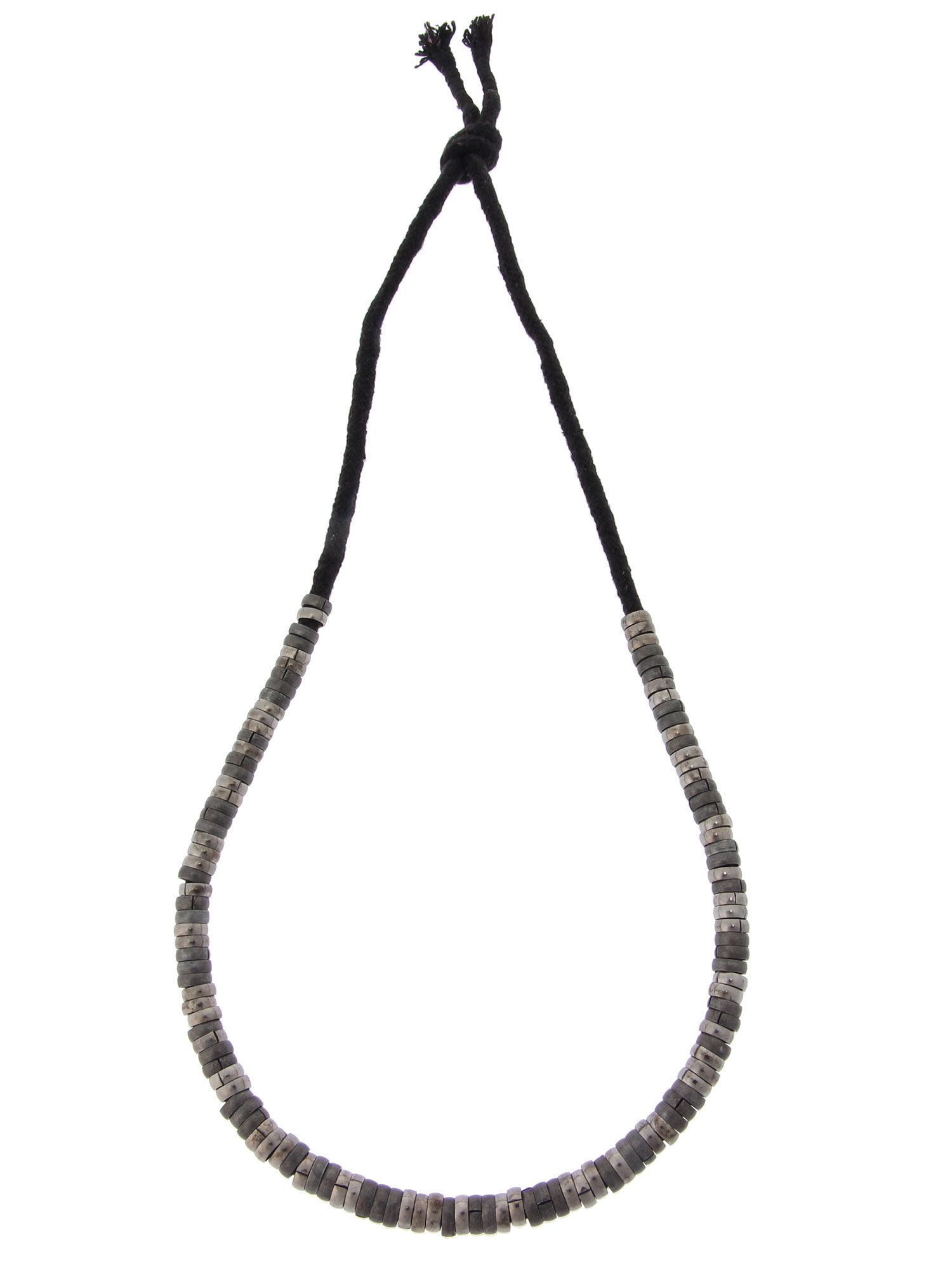 WEGO/ロープメタルミックスネックレス