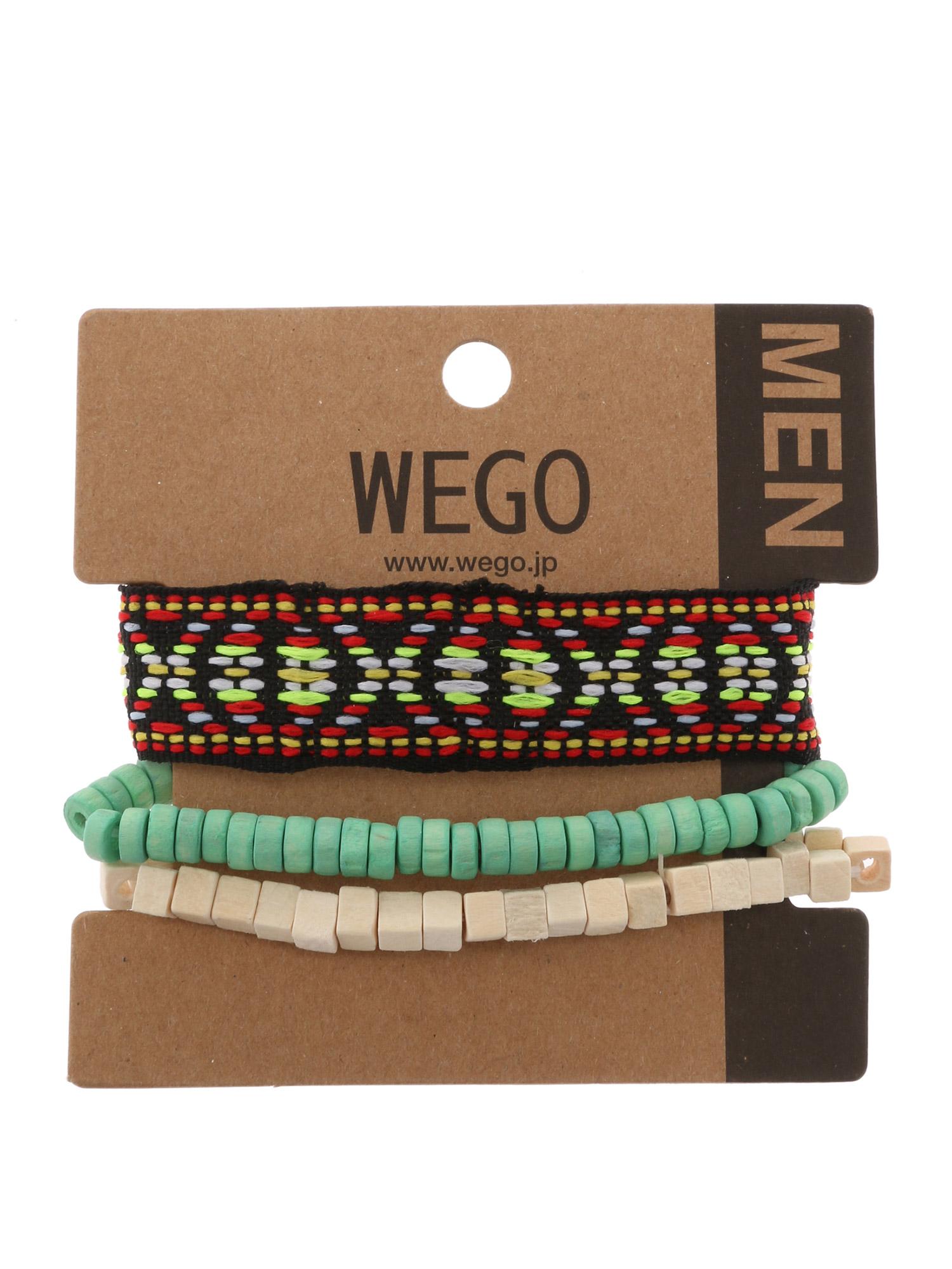 WEGO/ネイティブテープセットブレスレット