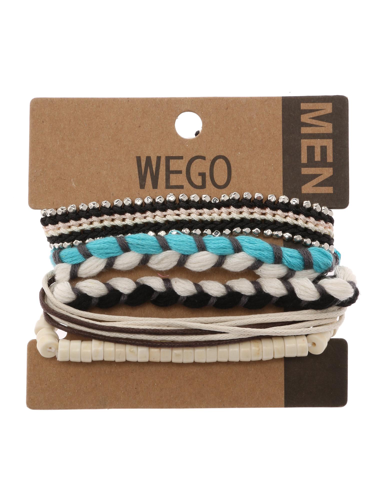 WEGO/ロープミックスセットブレスレット