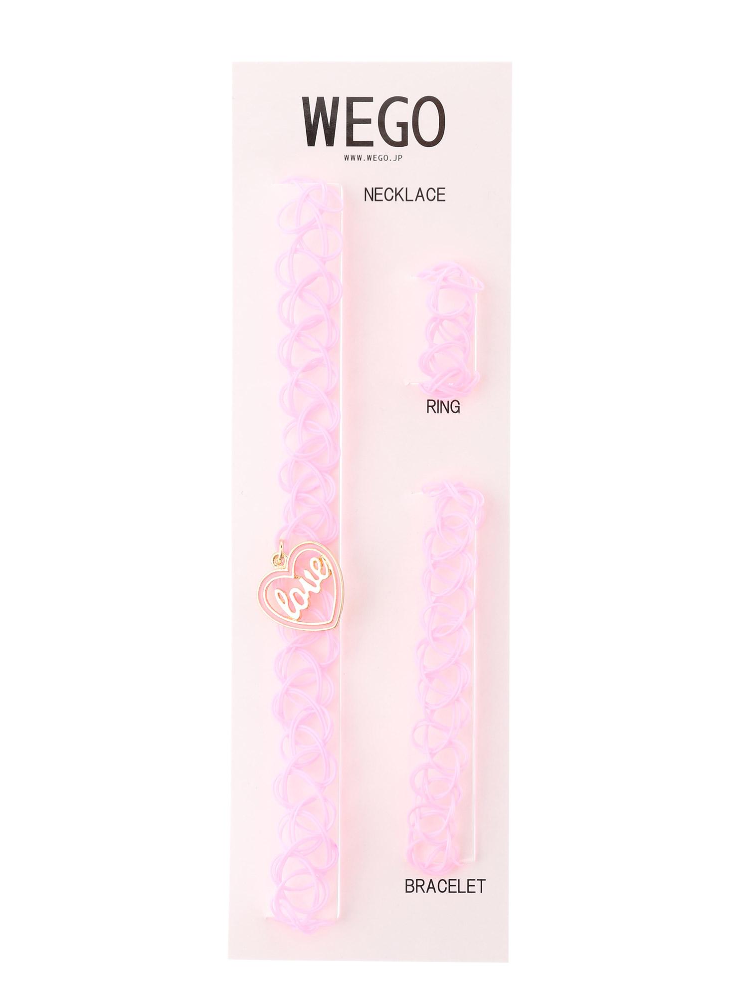 WEGO/LOVEタトゥチョーカー