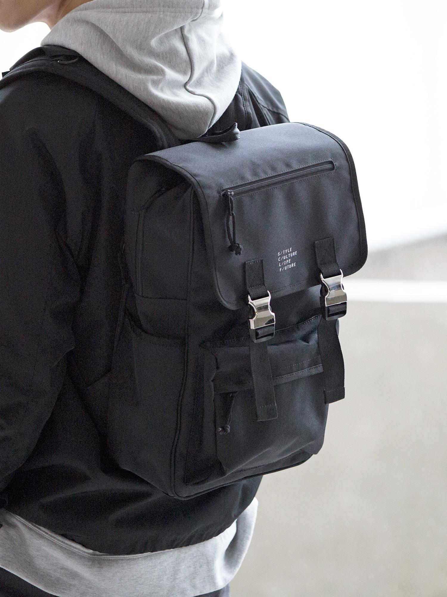 WEGO/フラップメタルバックパック
