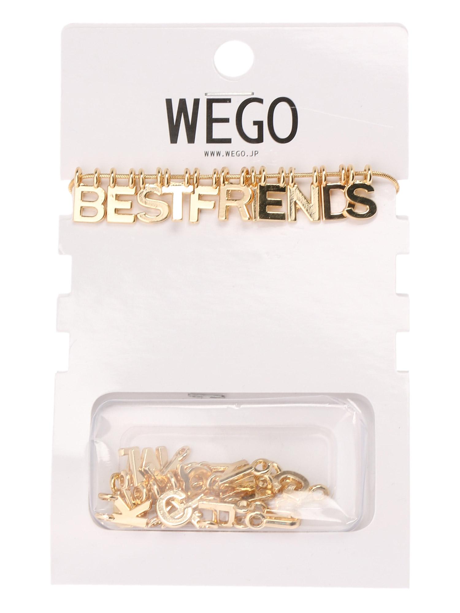 WEGO/メッセージネックレス