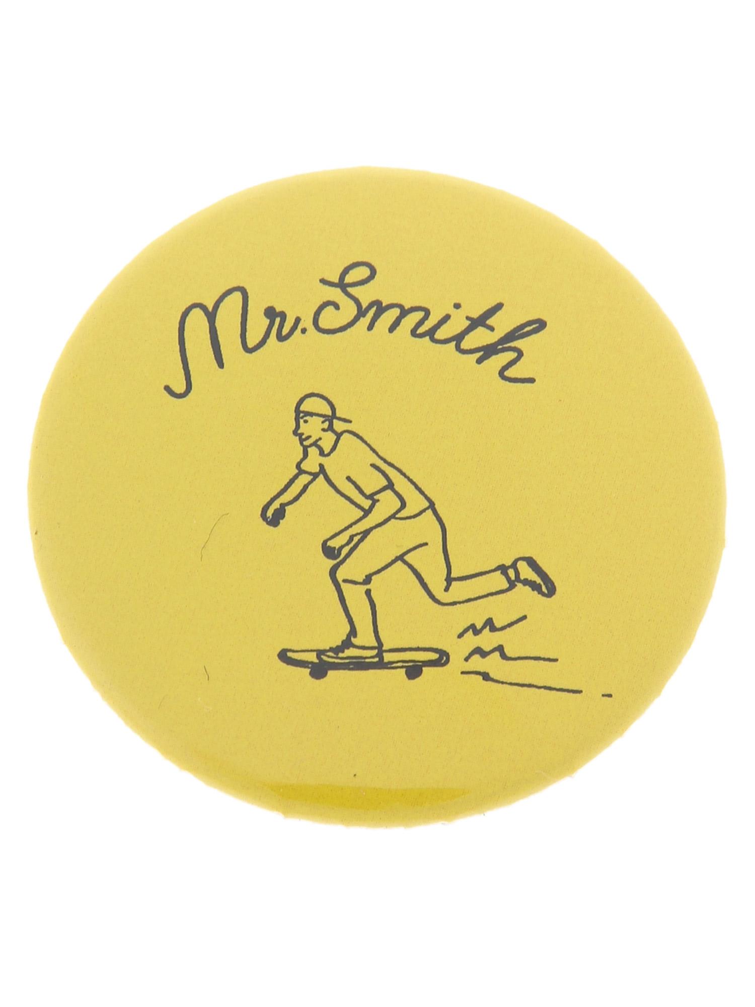 WEGO/MrSmith缶バッジ