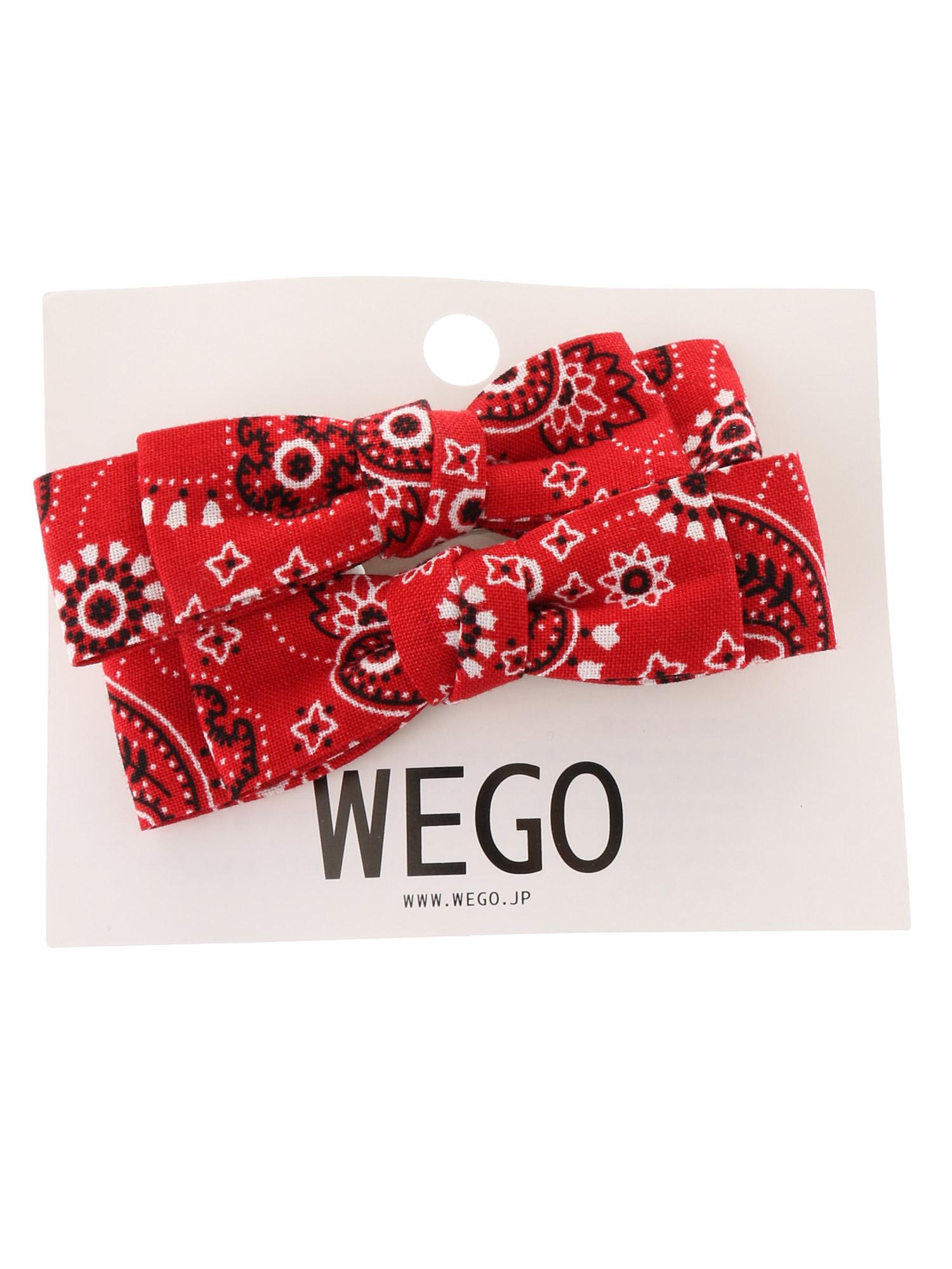 WEGO/ペイズリークリップ