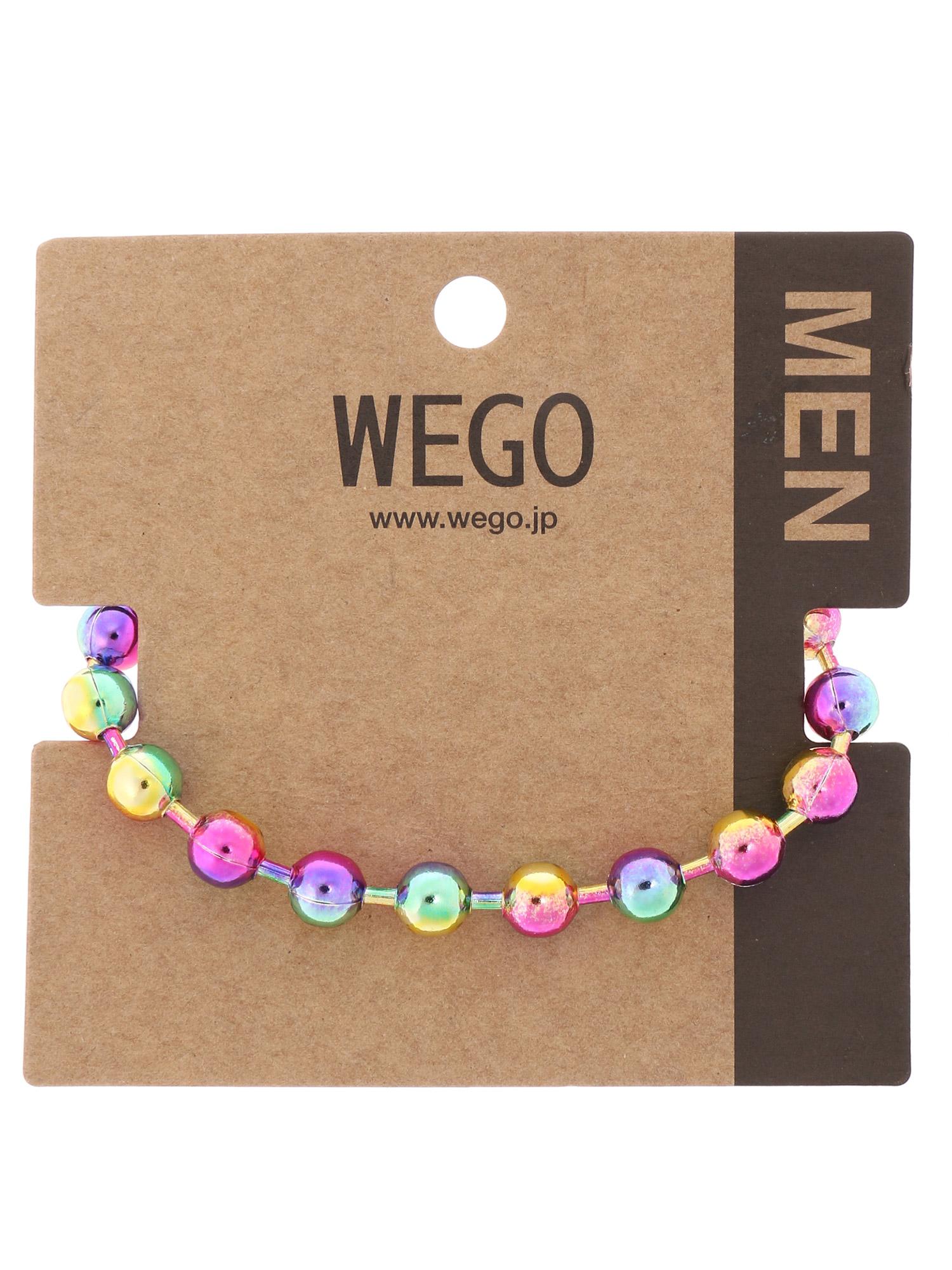 WEGO/ボールチェーンブレスレット