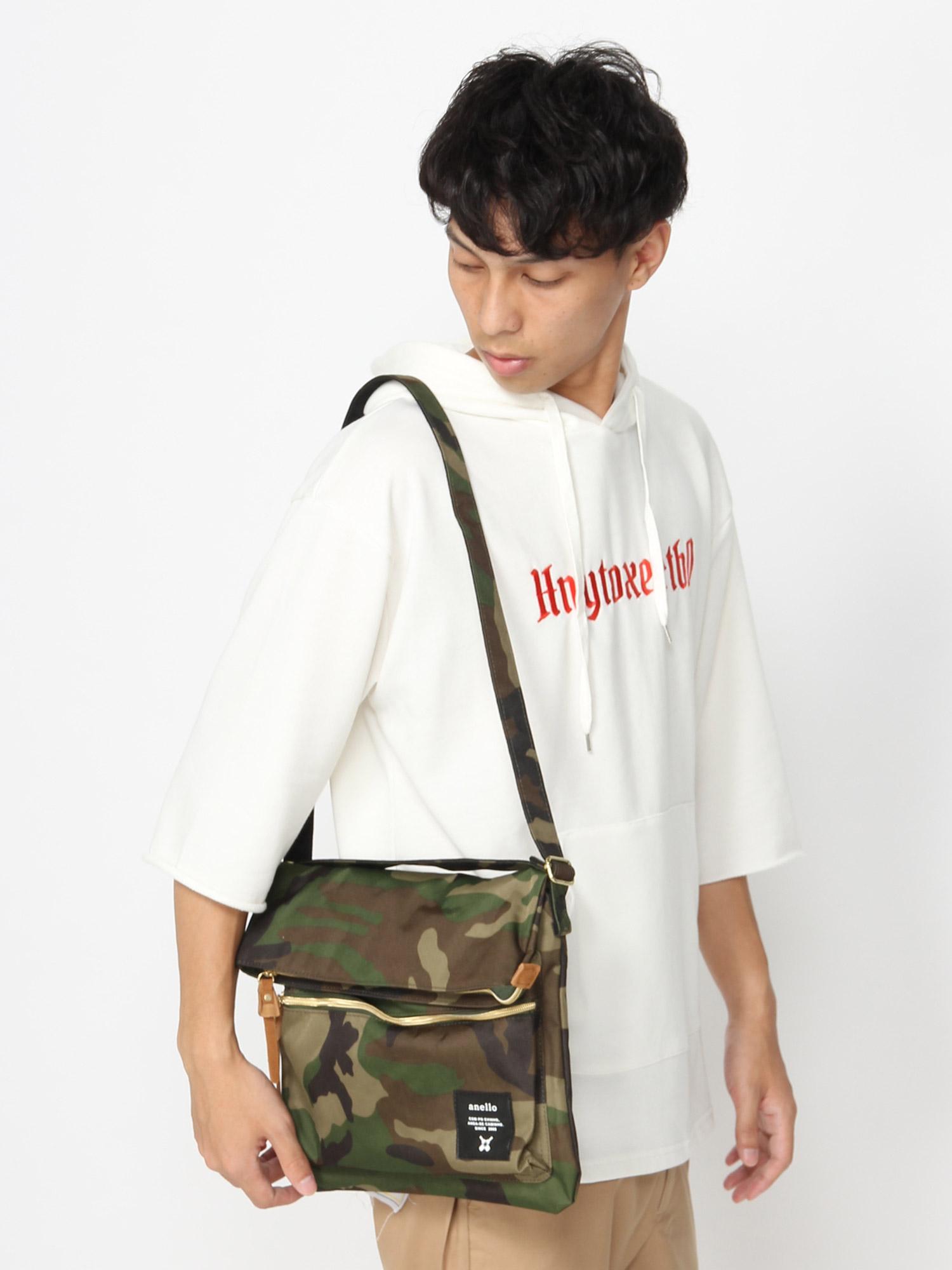 WEGO/anello口折れショルダーバッグ