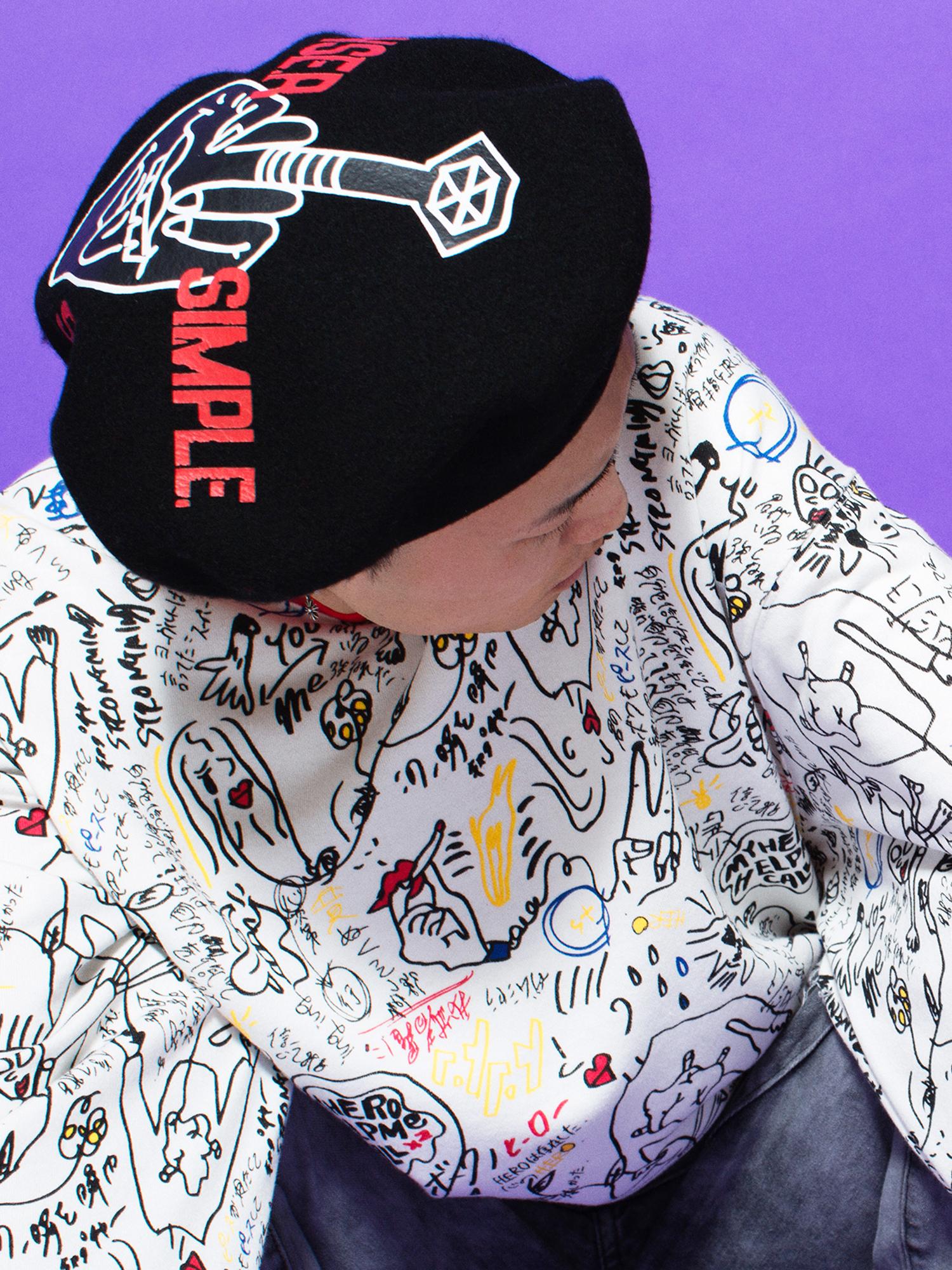 WEGO|KOBINAIコラボベレー帽