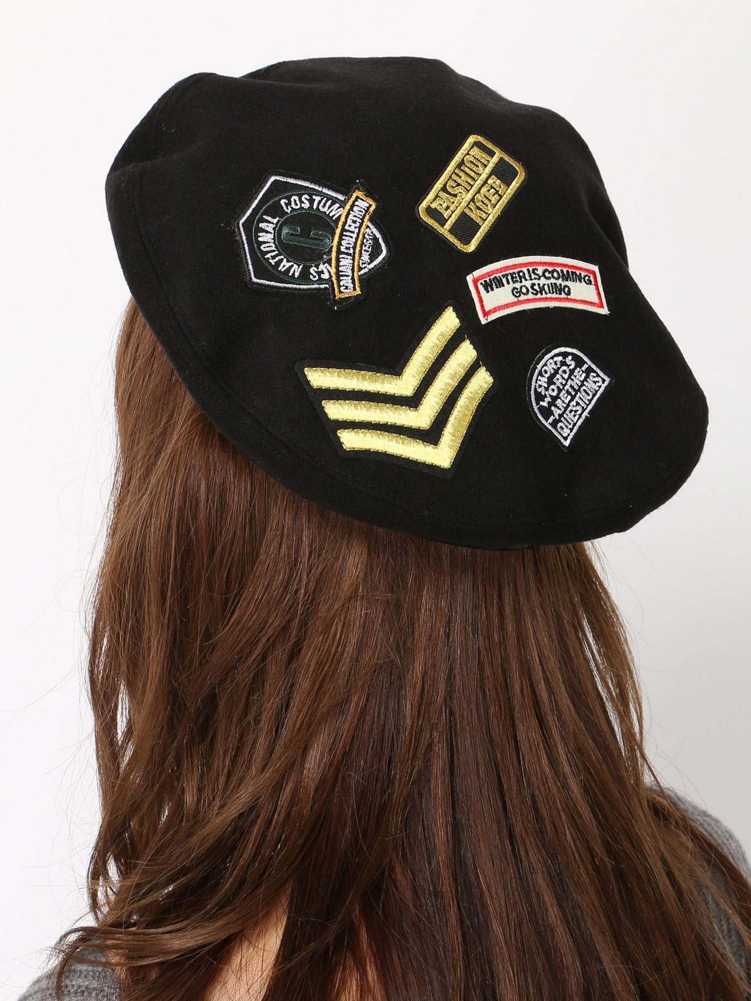 WEGO/ワッペンベレー帽