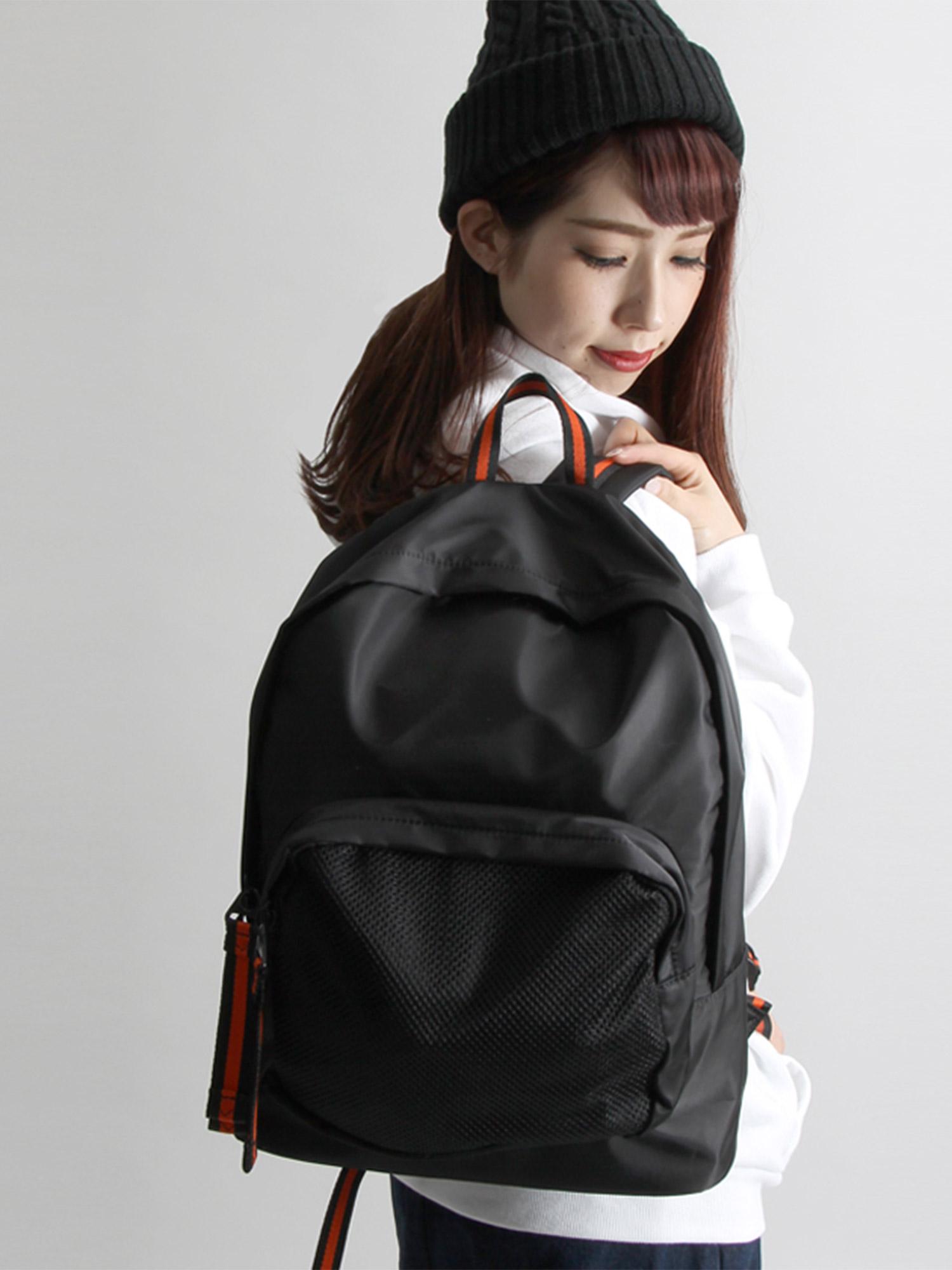 WEGO/メッシュ切替バックパック