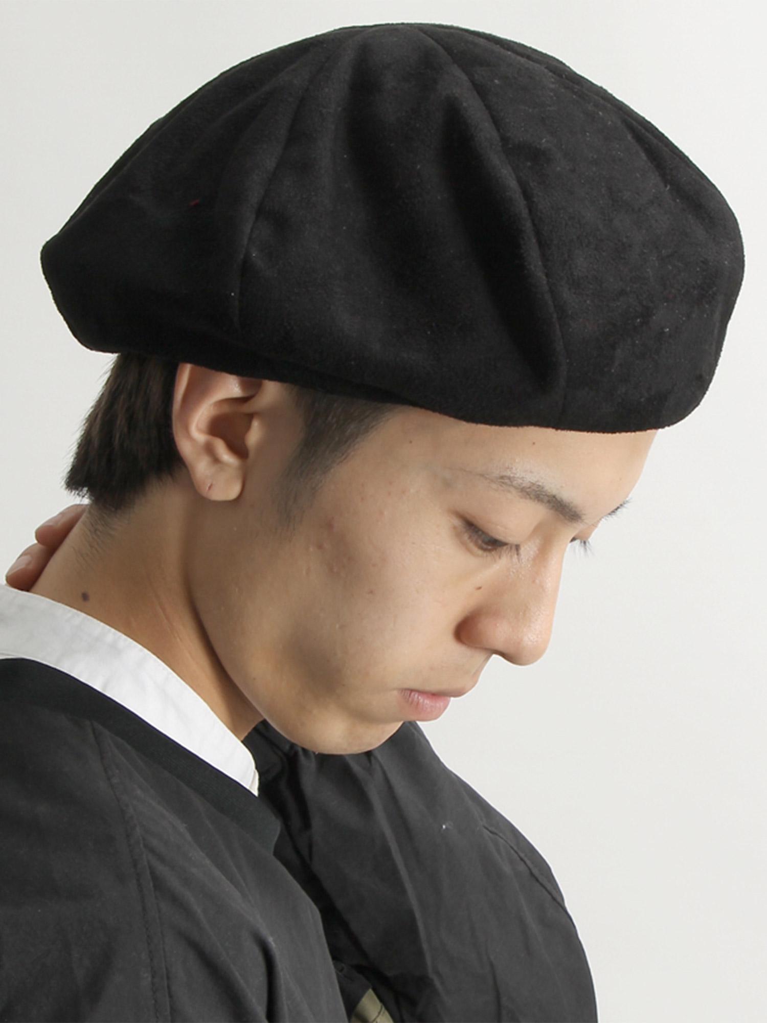 WEGO/フェイクスウェードベレー帽