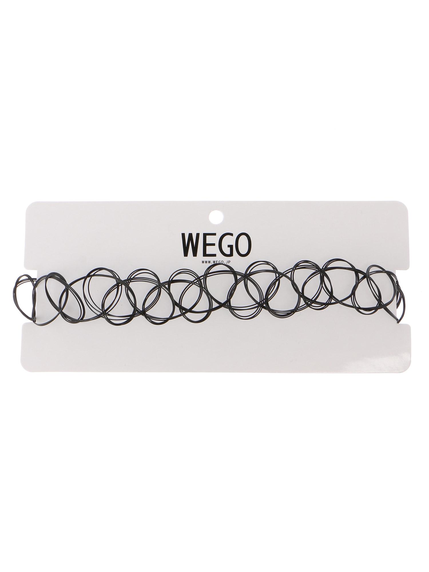 WEGO/太タトゥーチョーカー