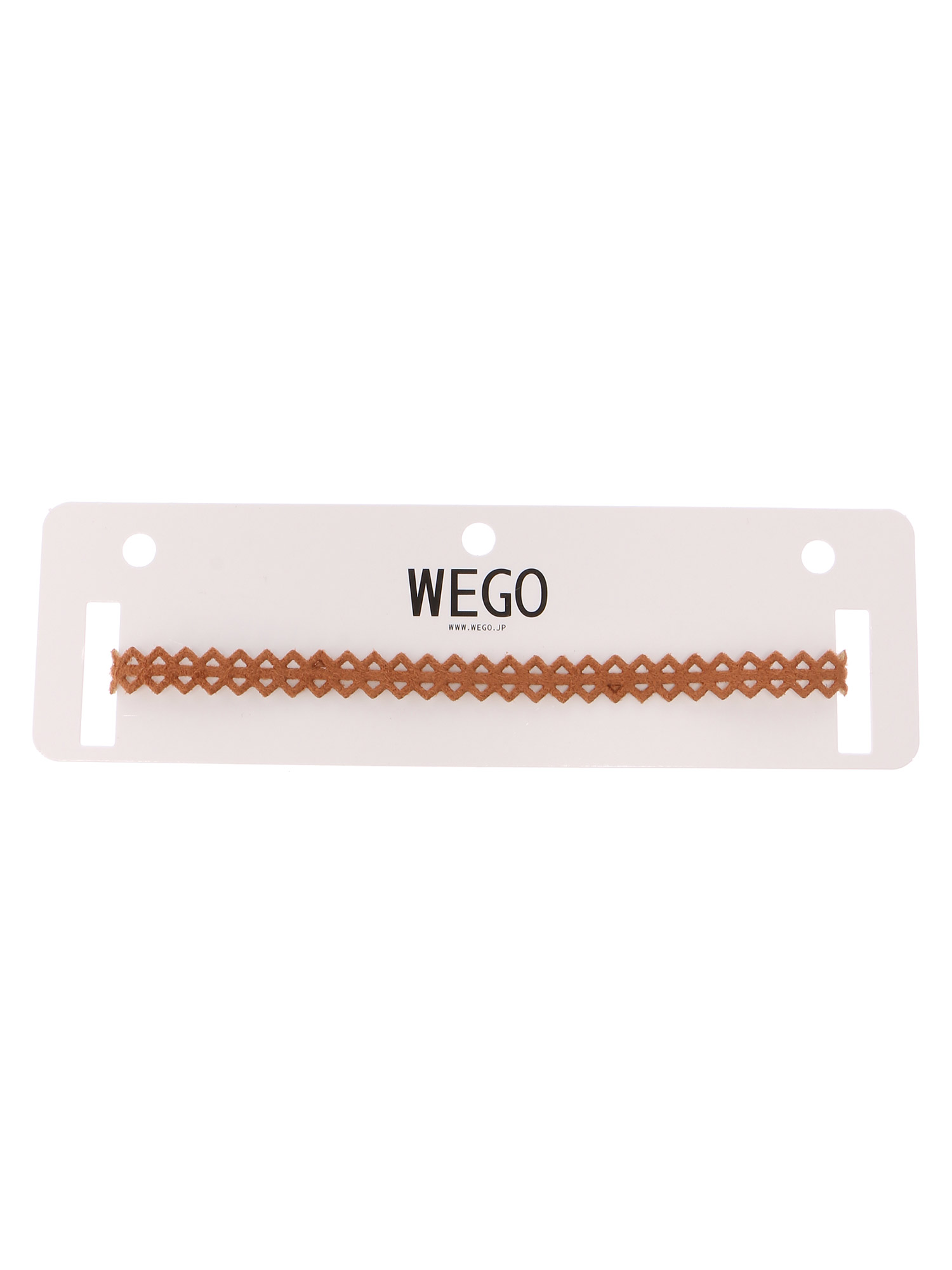 WEGO/スエードテープチョーカー