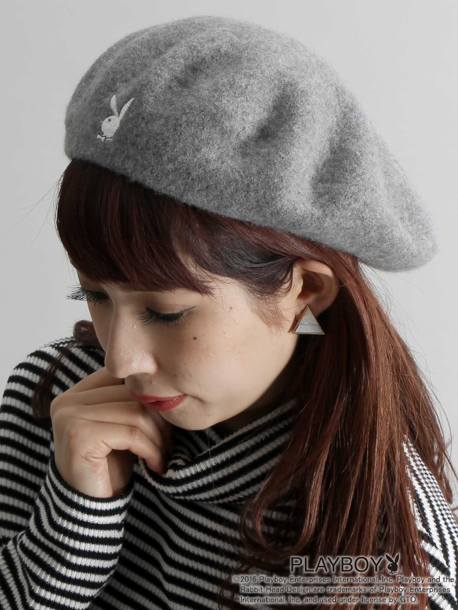 WEGO|PLAYBOYベレー帽