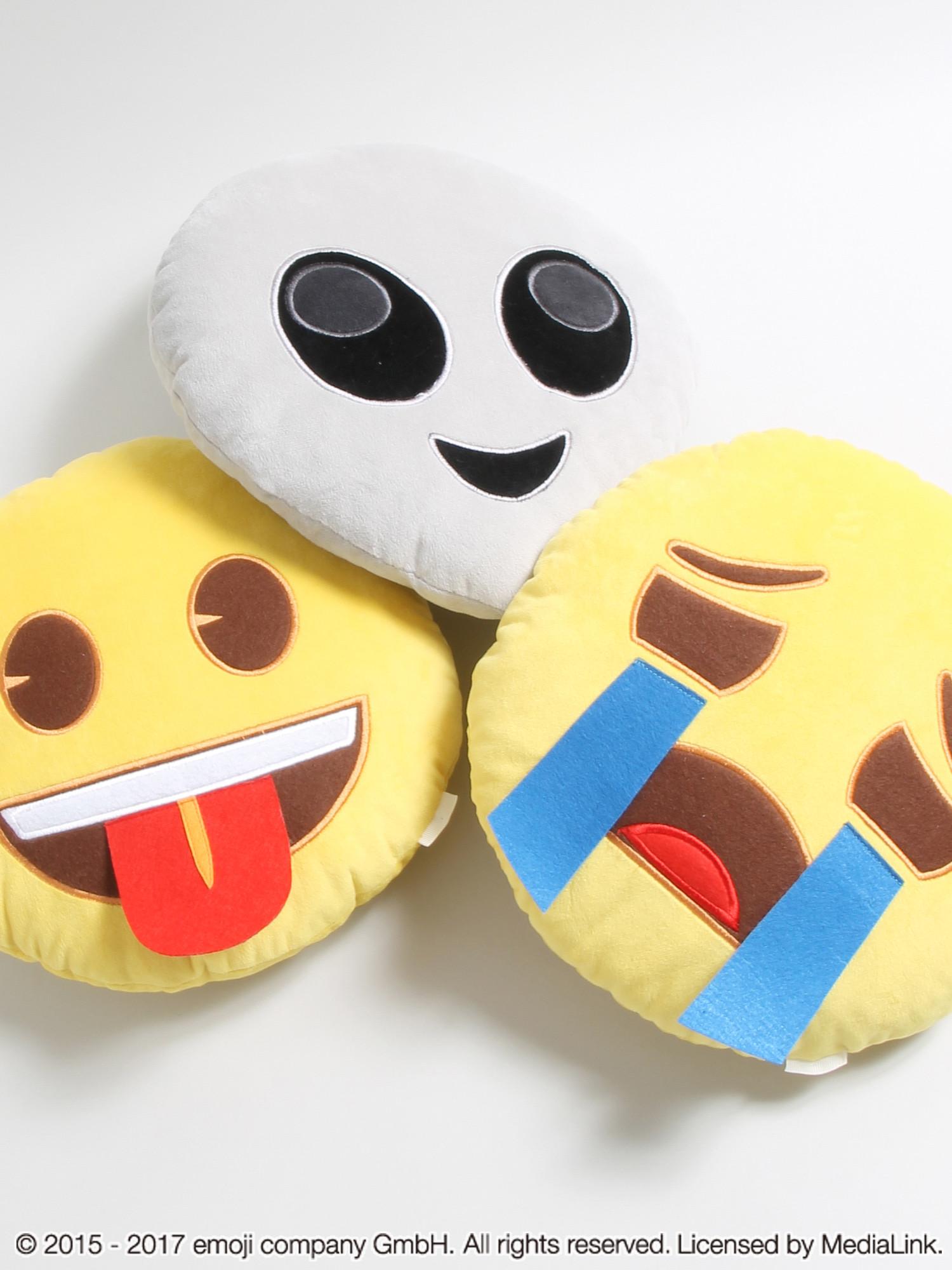 WEGO 【emojiコラボ】フェイスクッション