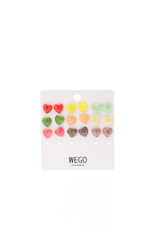 WEGO/セットピアス