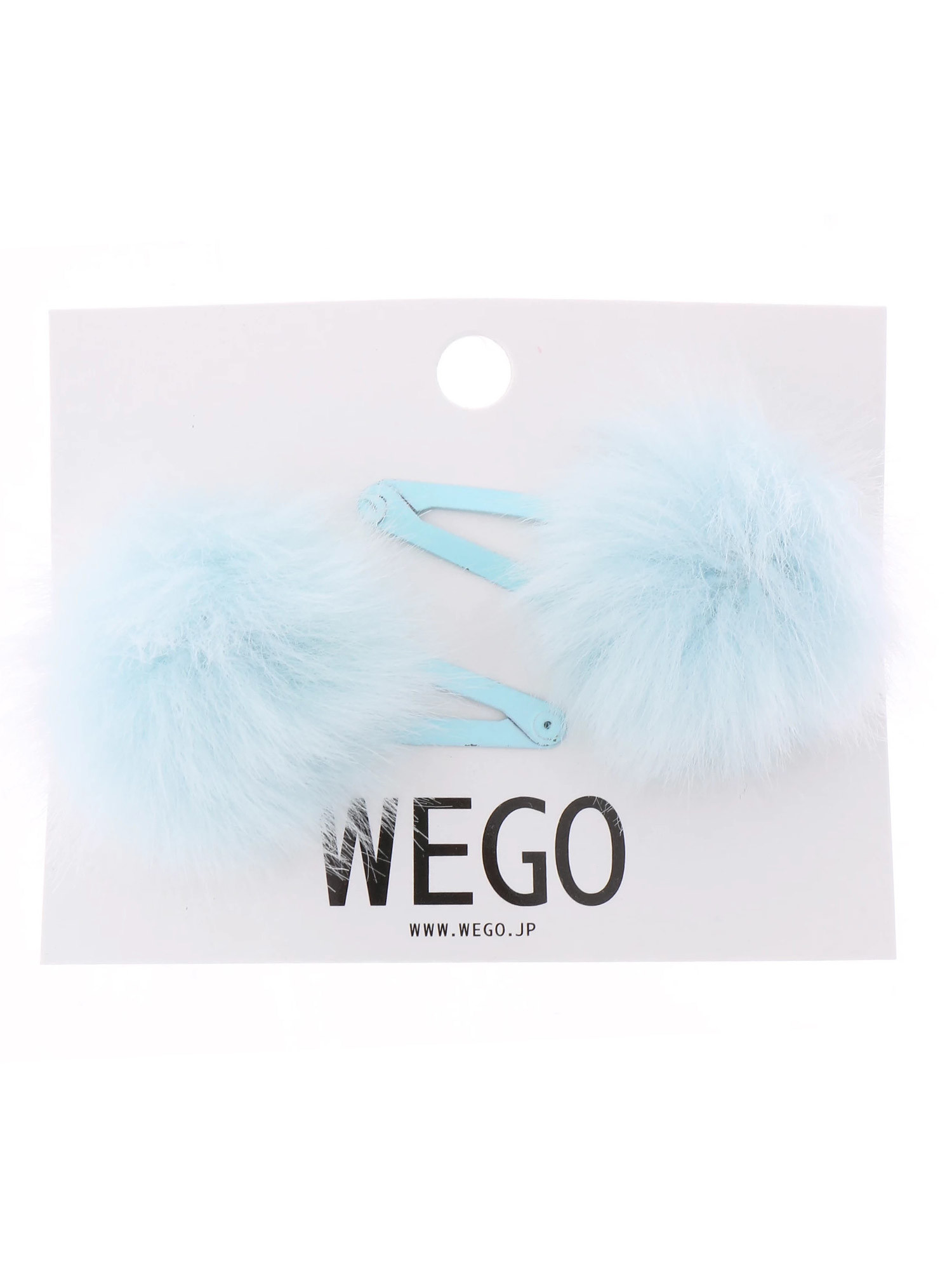 WEGO/ポンポンヘアピン