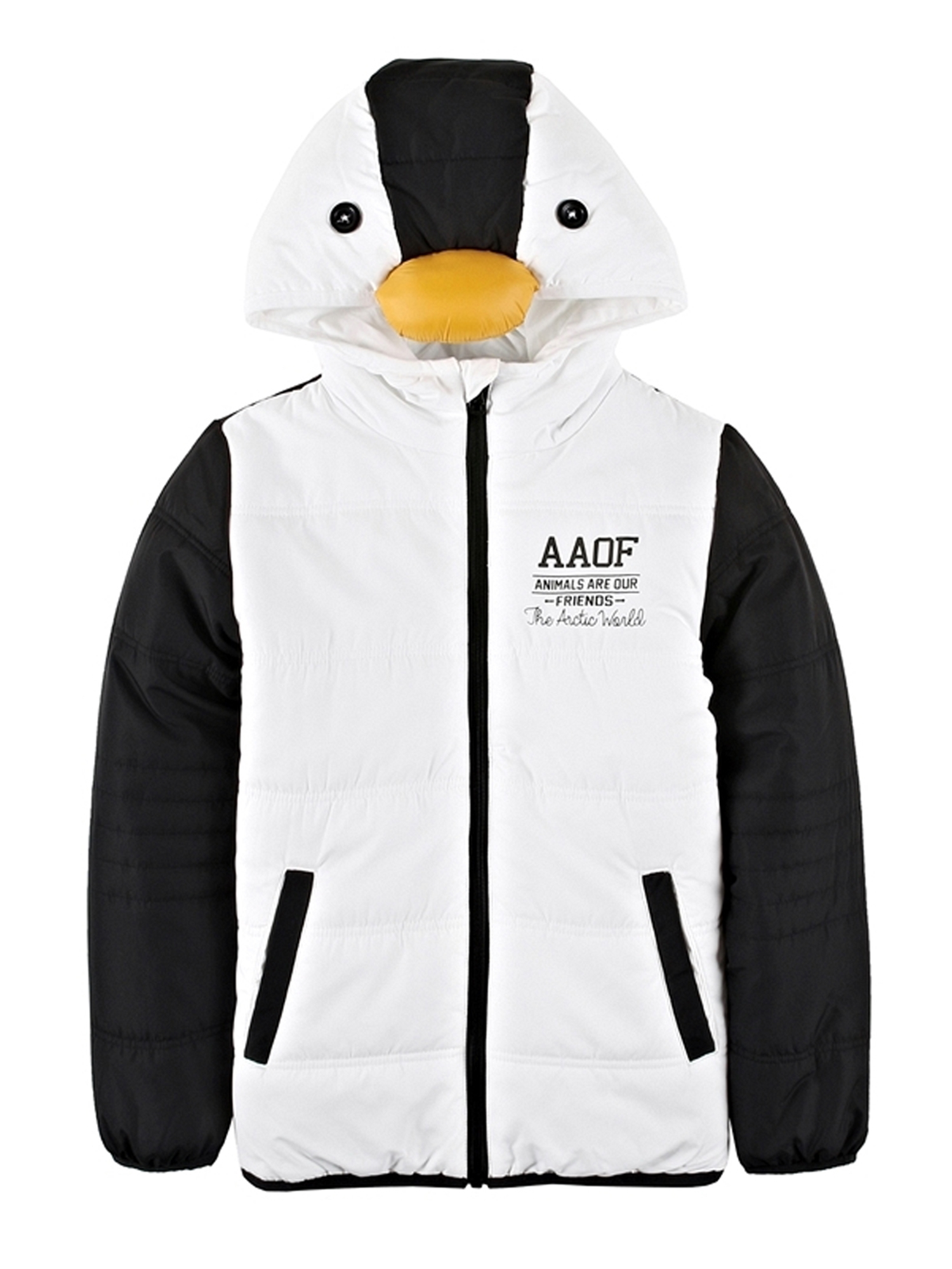 [GIORDANO]ペンギンパデッドジャケット