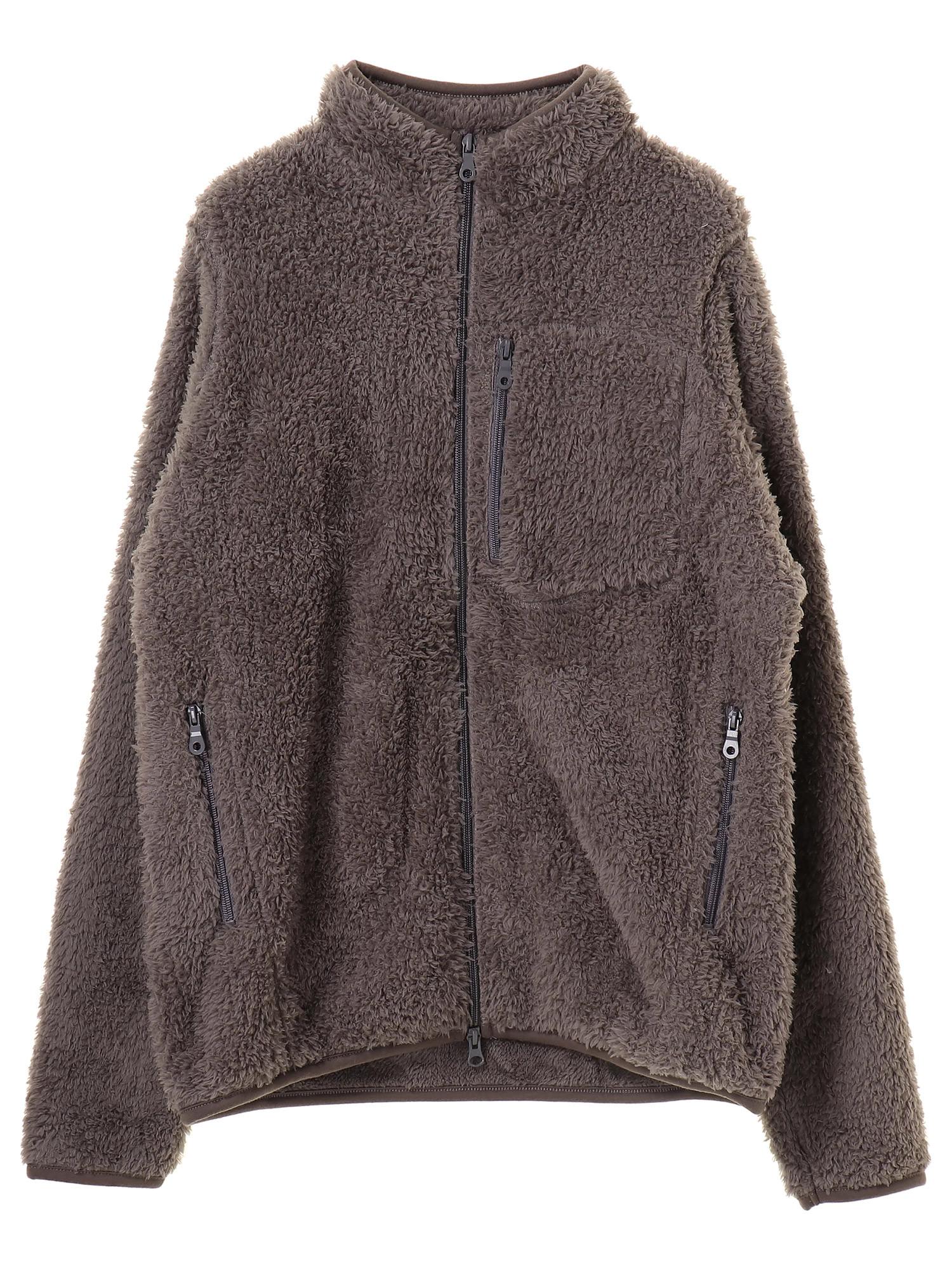 レトロフリースジップジャケット