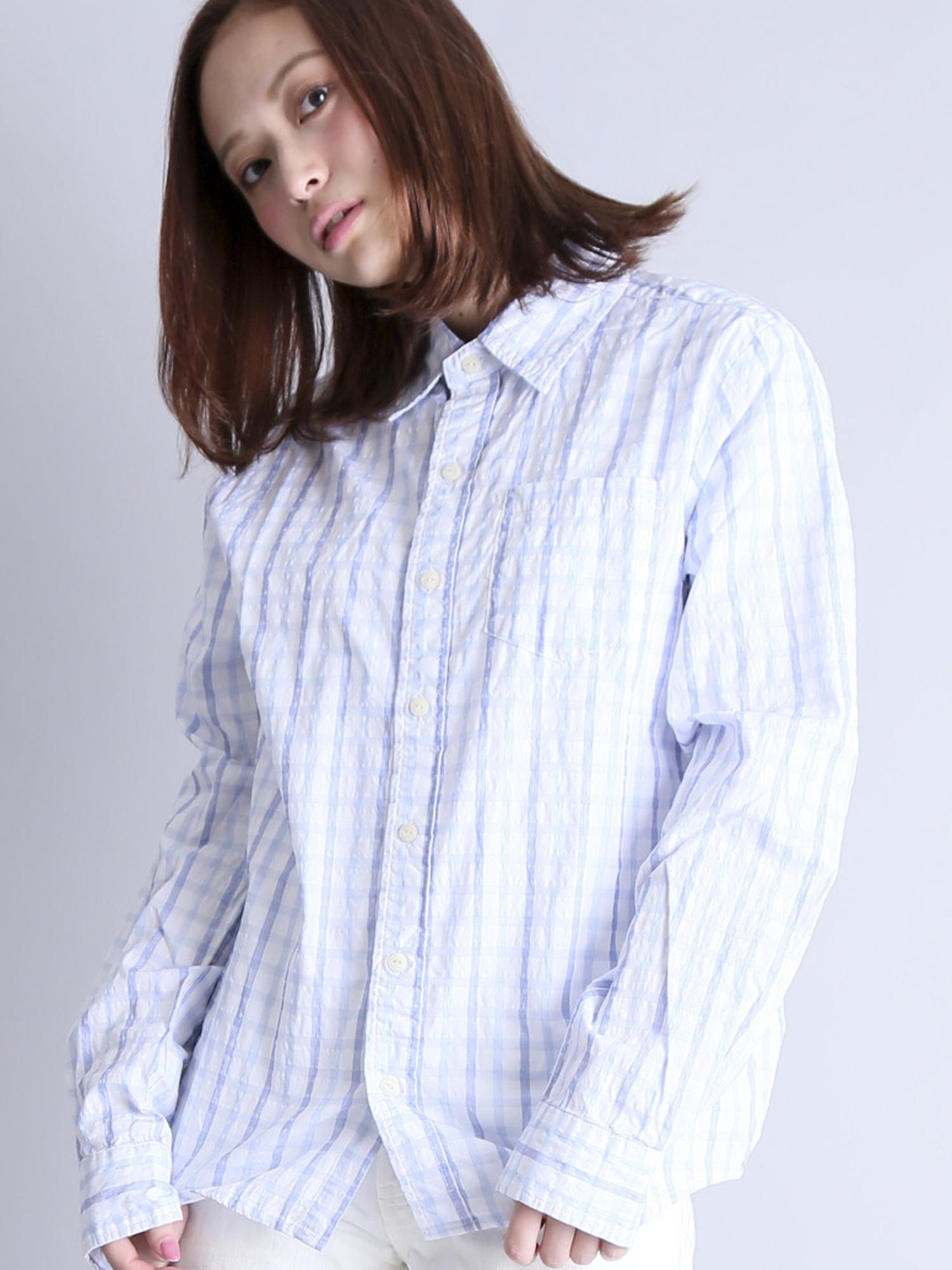 CHECK LS SHIRTS/チェックロングスリーブシャツ