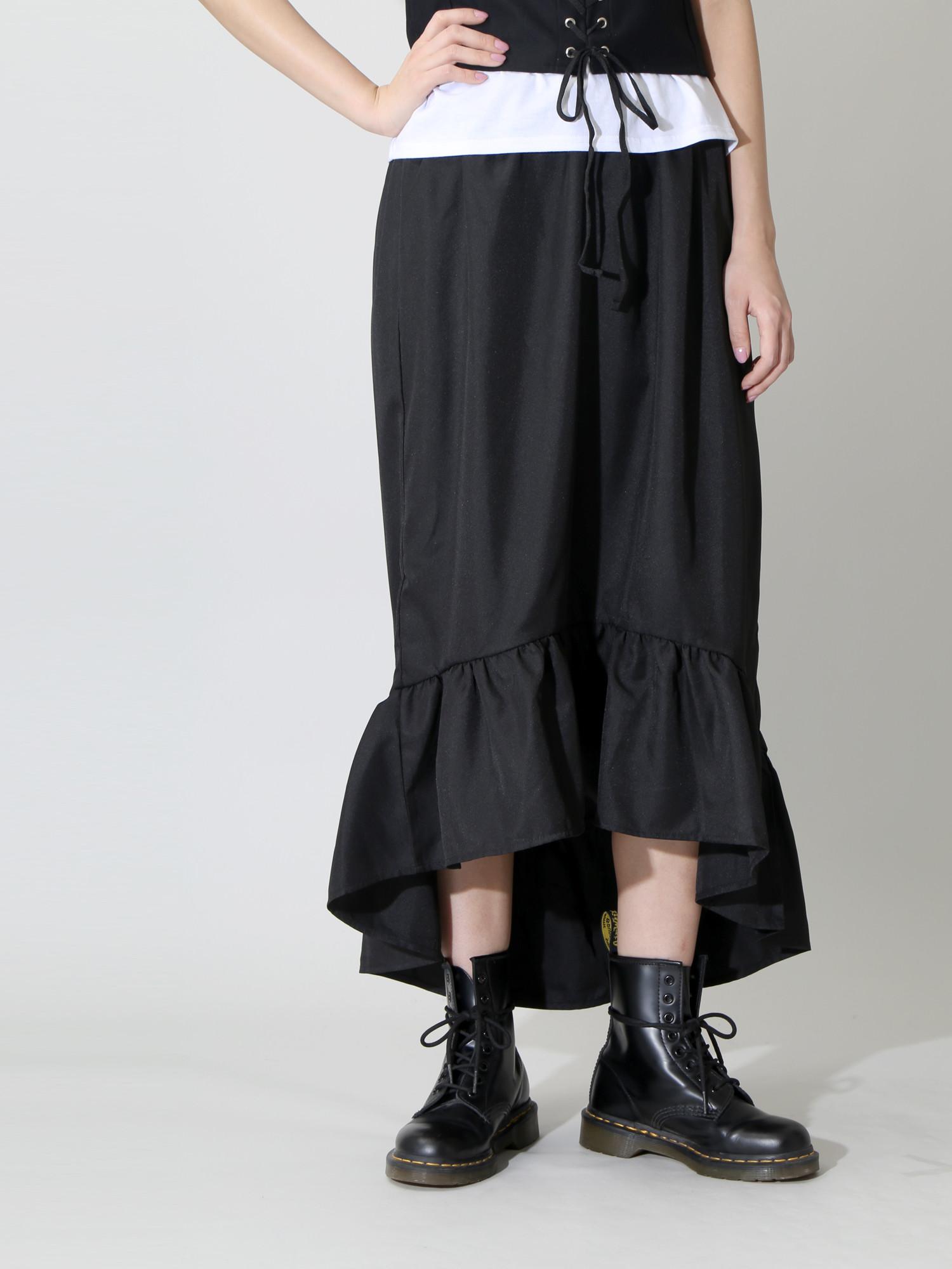 DAMMY/ボリュームアシメスカート