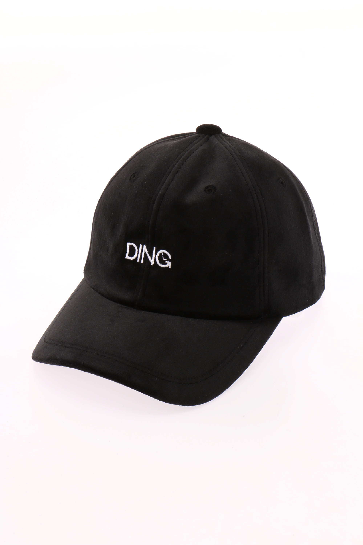 DING/ロゴベロアキャップ