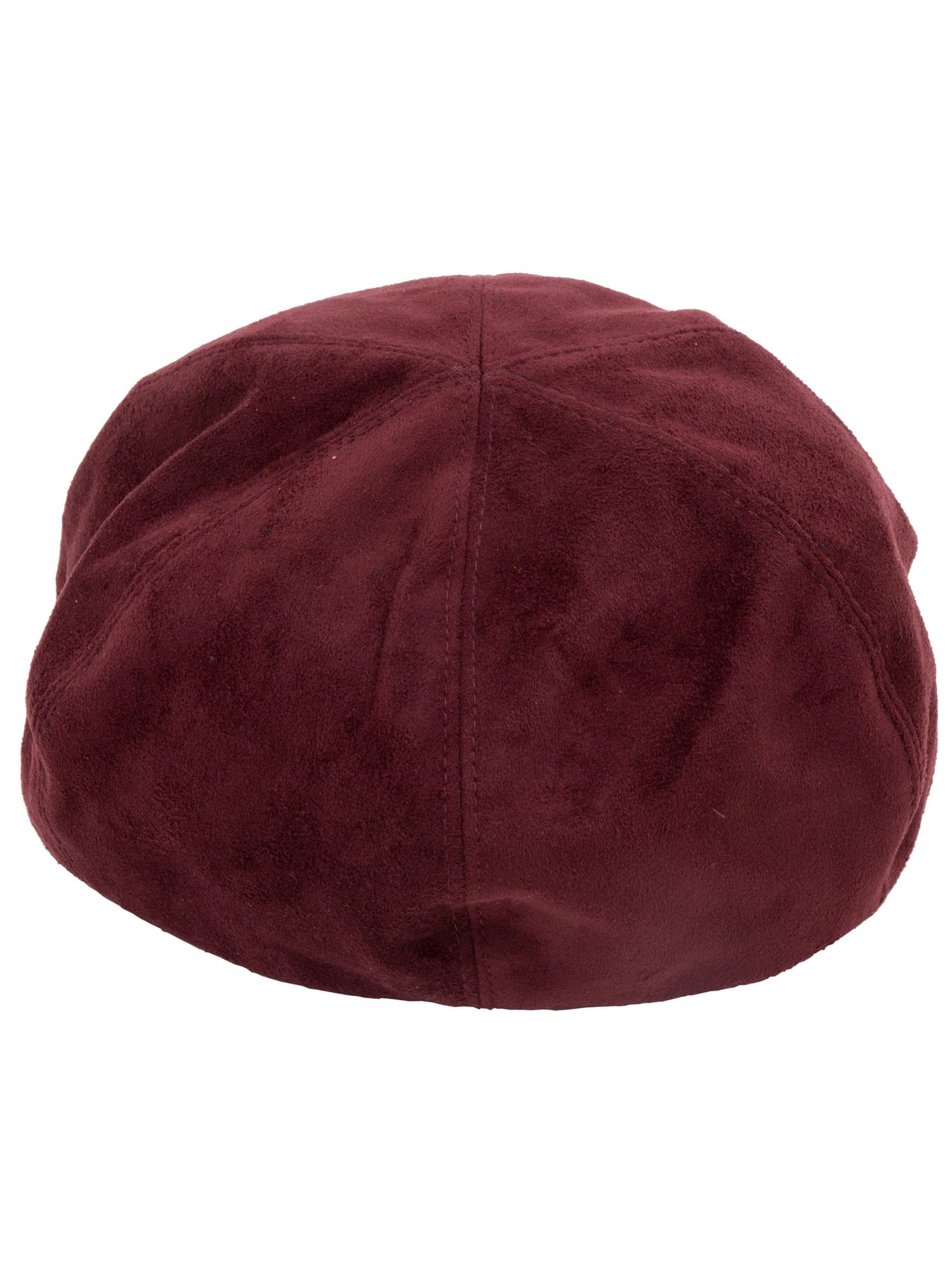 PUNYUS/フェイクスウェードベレー帽