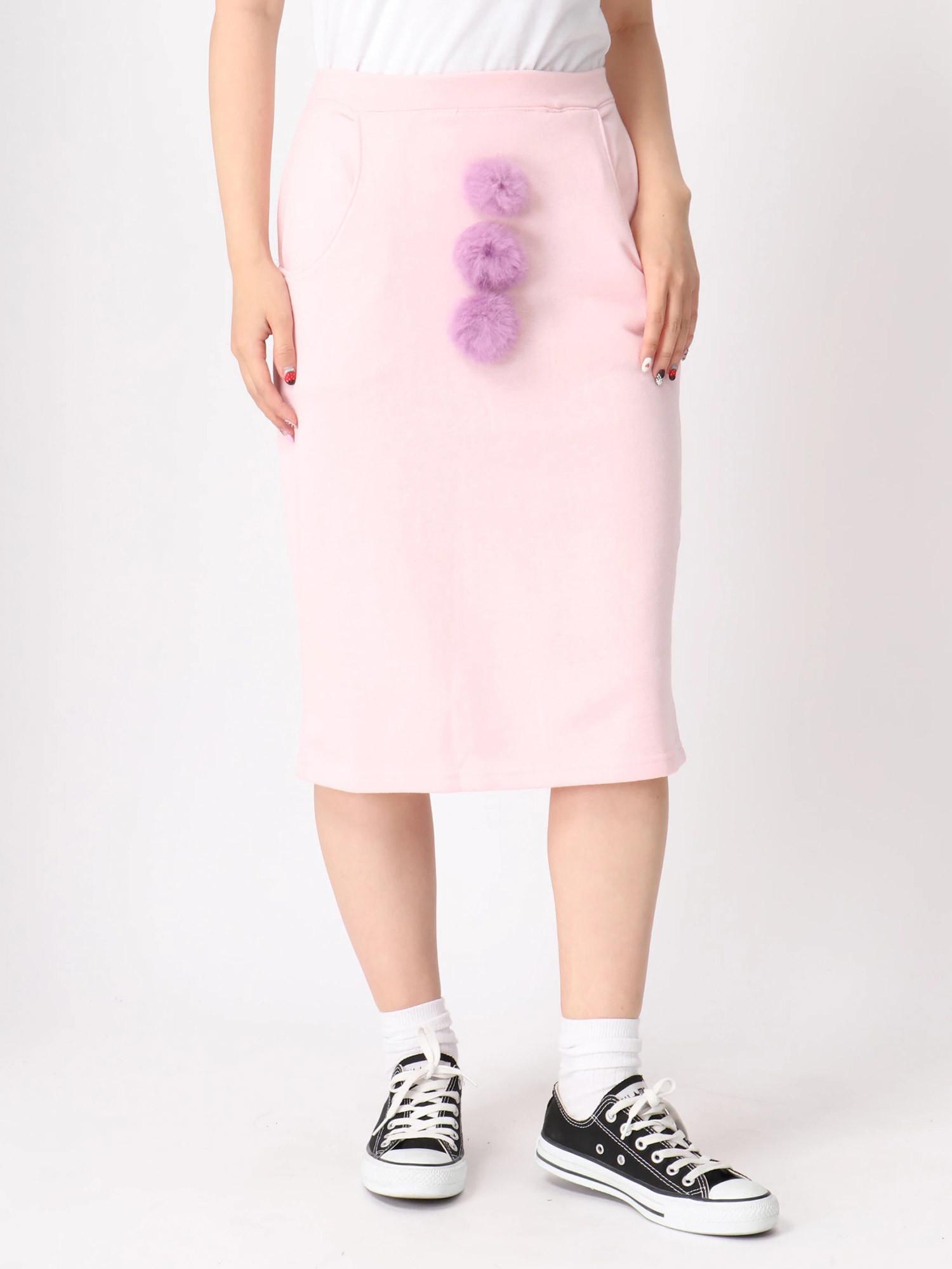 WC/ポンポンツキスカート