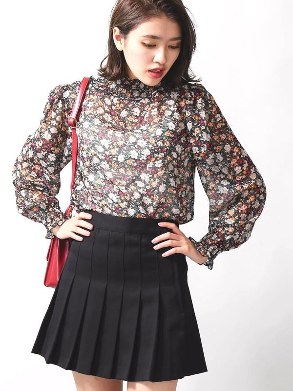 女の子らしい、かわいいミニのプリーツスカート! 男の娘にも、もちろんお勧め。