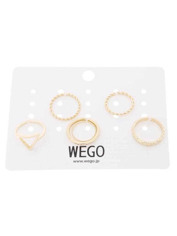 WEGO/リングセット(柄4)