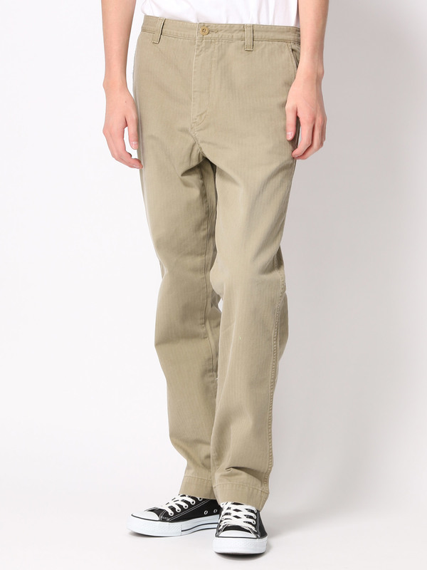 japanmade 40s french work trousers herring bone フレンチワーク